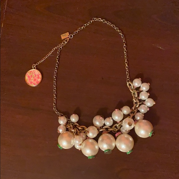 Lily Pulitzer Pearl Statement Necklace